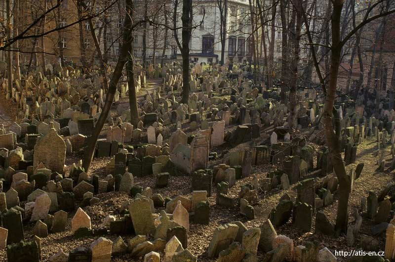 10. Old Jewish Cemetery in Prague