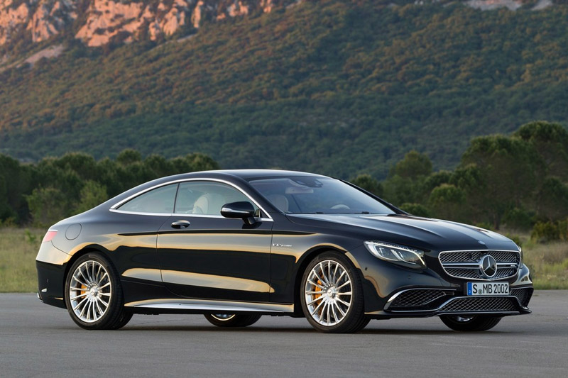 10. Mercedes-benz cl65 amg coupe